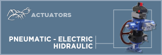 Pneumatic, Electric and Hydraulic Actuators & options